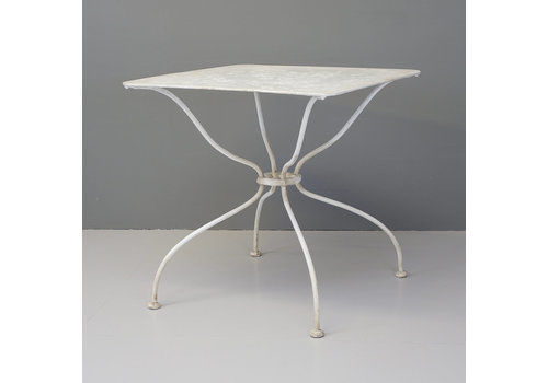 Square Garden Table, 1900s