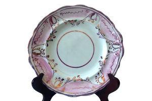Thumb antique sunderland lustre dessert plate 21cms 1900s 0