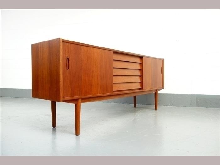 Nils Jonsson 1960 S Teak 5 Drawer Sideboard photo 1