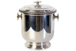 Thumb mid century ice bucket 1950s steel 0