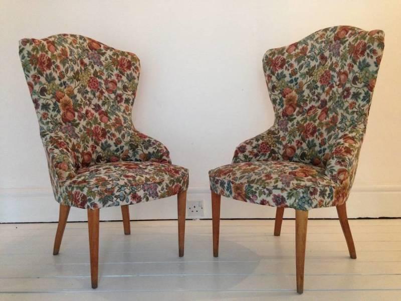 Pair Of 1950s Italian Chairs