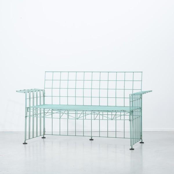 Bruno Munari For Robots Abitacalo Wire Sofa