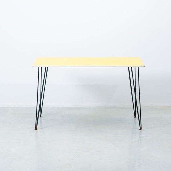 Paul Bridston For Kandya Yellow Table