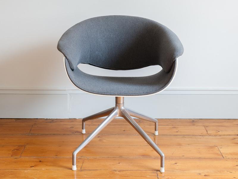 Set Of 6 Uwe Fischer For B&B Italia Sina Dining Chairs