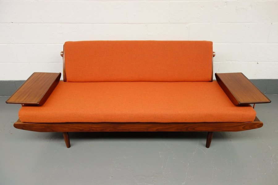 Toothill Afromosia Teak Sofa Bed photo 1