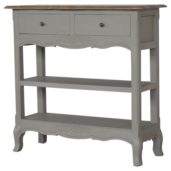 Painted French Style Mango Console Table
