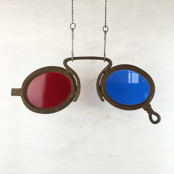 Antique Optician's Trade Sign