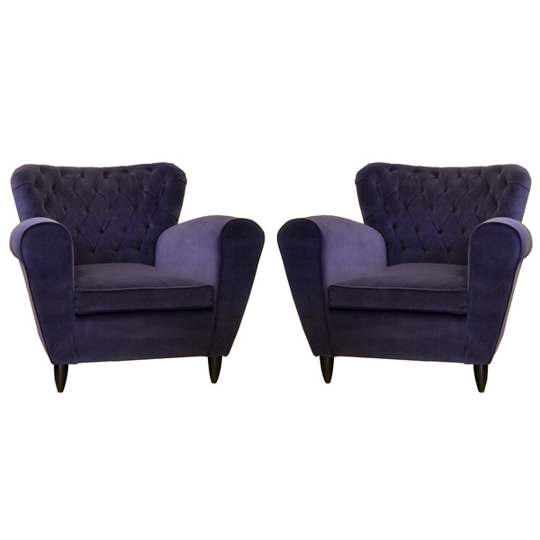 A Pair Of Armchairs By Gugliemo Ulrich