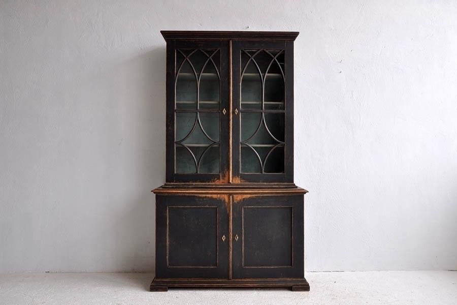 Swedish Gothic Revival Bookcase