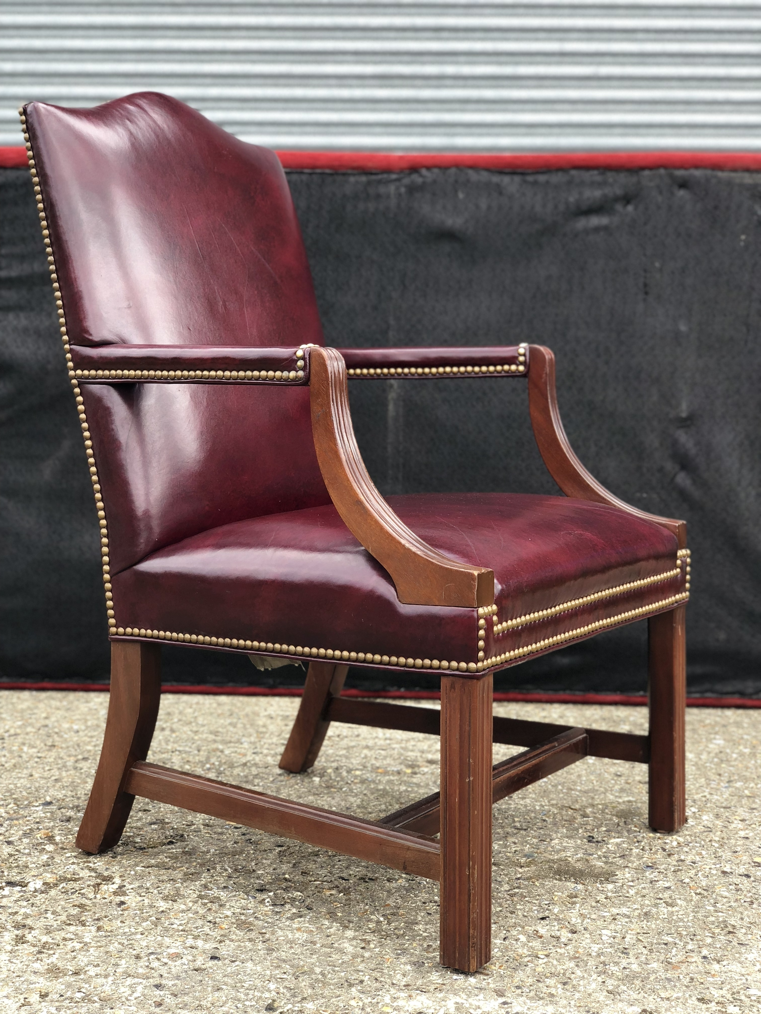 Incredible Hancock Moore Jefferson Side Chair Gmtry Best Dining Table And Chair Ideas Images Gmtryco