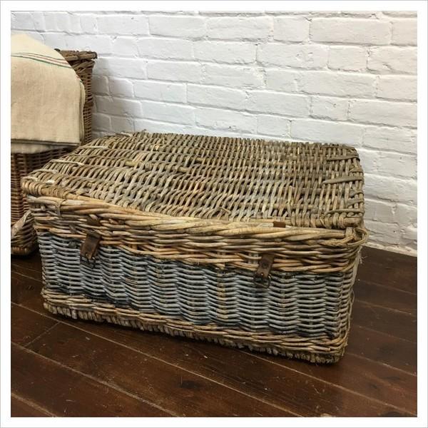 Small Vintage Wicker Basket