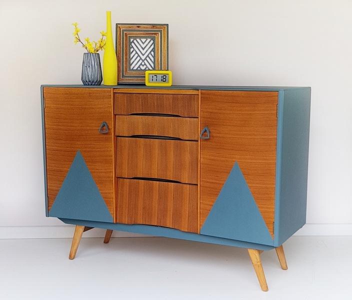 1960's Retro Vintage Avalon Yatton Sideboard, Mid Century Avalon British Teak Sideboard, Retro Unit