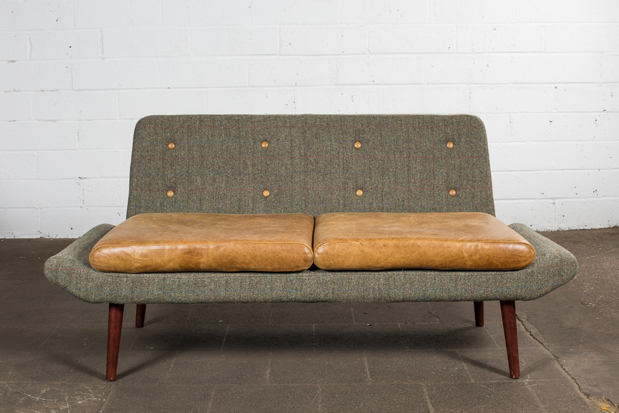 Mid Century Style Two Seater Sofa