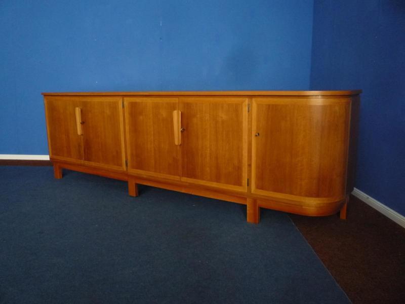 Walnut & Beech German Sideboard By Georg Schoettle, 1953 Ug 227776