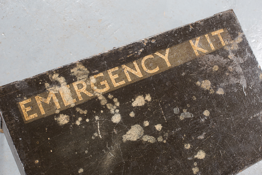 Emergency Kit Box Table From 1935