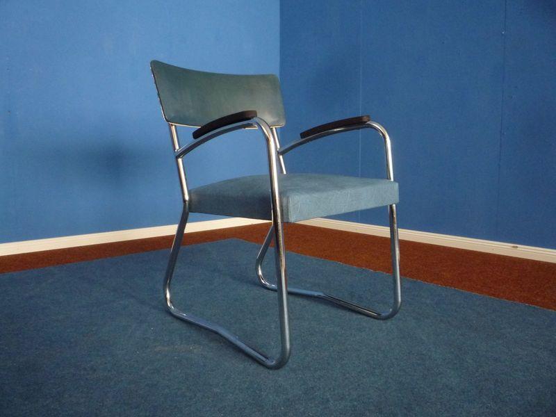 Steel Tube Chair, 1940s