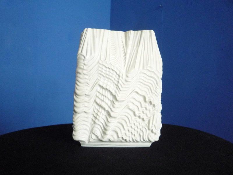 Mid Century Porcelain Vase By Martin Fryer For Rosenthal