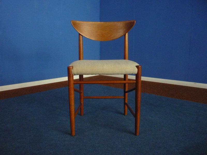 Model 316 Chair By Peter Hvidt & Orla Mølgaard Nielsen For Søborg Møbelfabrik, 1950s