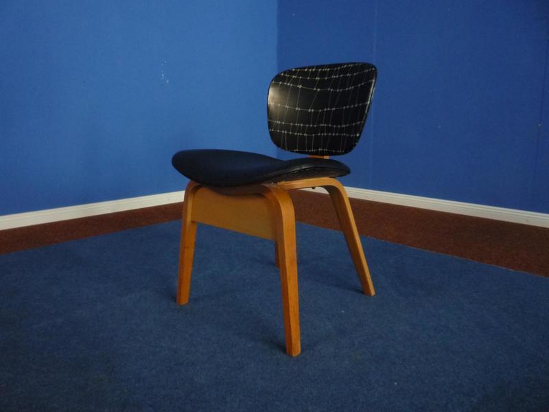 Mid Century German Plywood Chair, 1950s