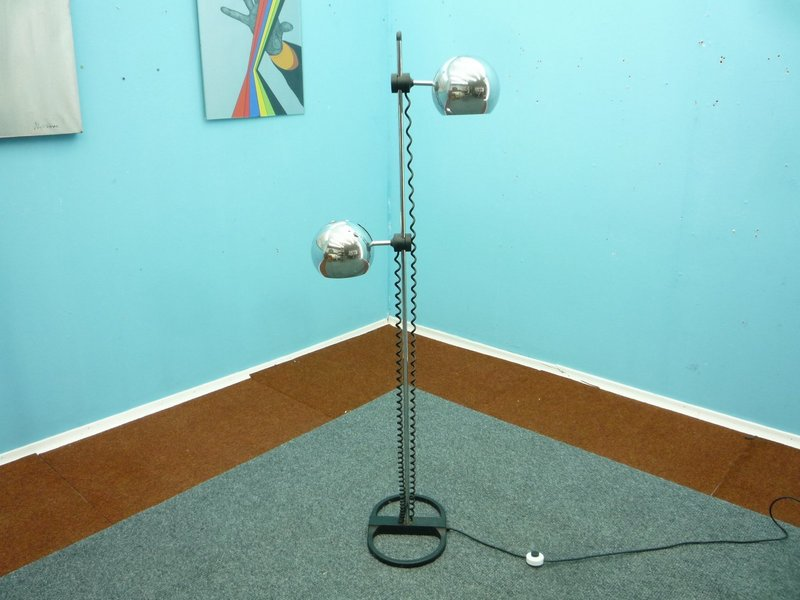 Mid Century German Floor Lamp By Staff
