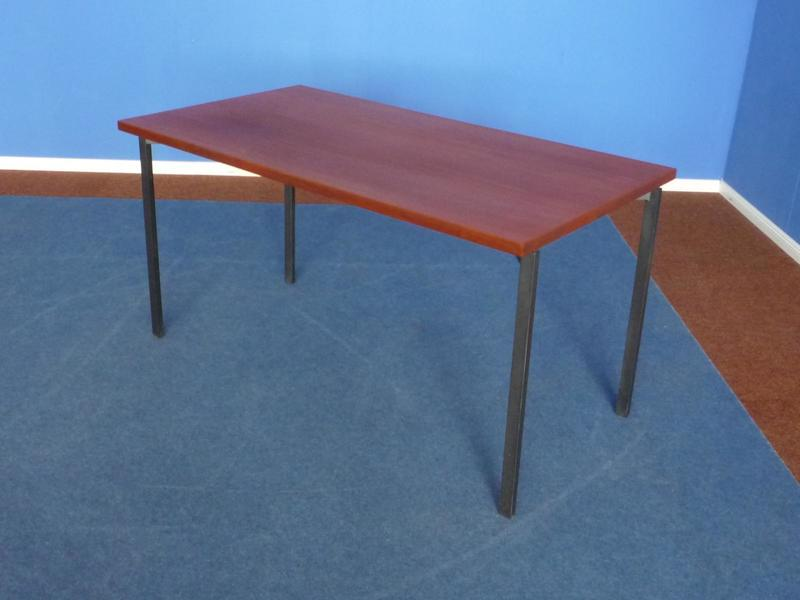 Teak Dining Table By Herbert Hirche For Christian Holzäpfel, 1950s