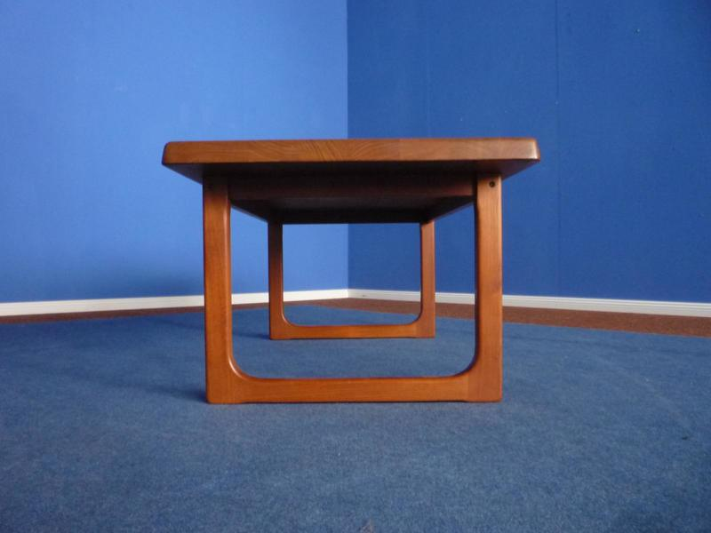 Danish Teak Coffee Table By Niels Bach, 1970s