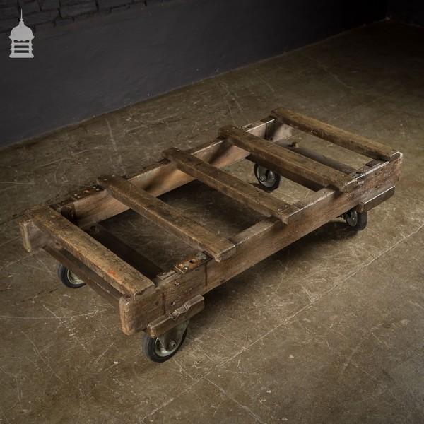 Small Industrial Trolley Dolly With Heavy Duty Wheels