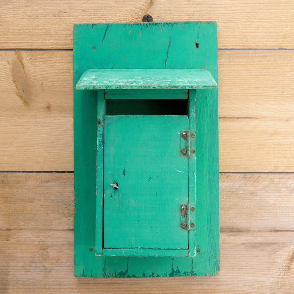 Wooden French Letter Box