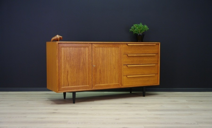 Vintage Danish Design Sideboard Made Of Ash 1960 S