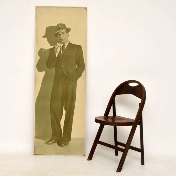 Humphrey Bogart Vintage Print On Board – From Casablanca Stage Production