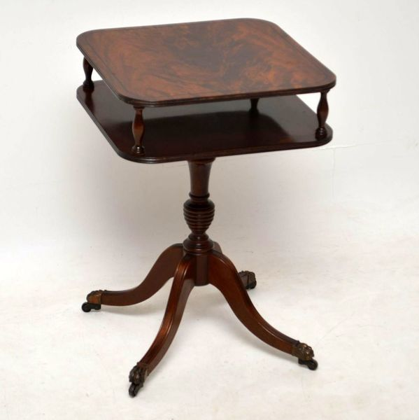 Antique Mahogany Occasional Side Table