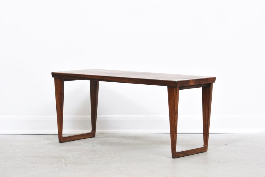 Rosewood Coffee Table / Bench By Kai Kristiansen