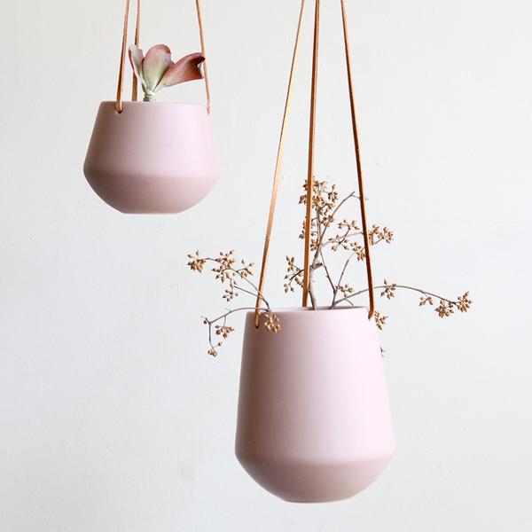 Large Ceramic Hanging Planter
